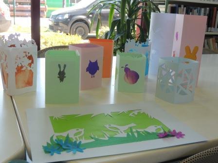 Atelier créatif Lanternes Pâques (15 avril 2015)
