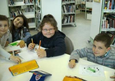 Animation-Classe Grenouilles (18 mars 2014)