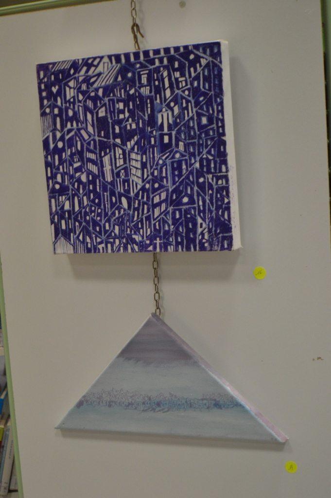 Vernissage de l'exposition de Cathy Zeroug (16 octobre 2015)