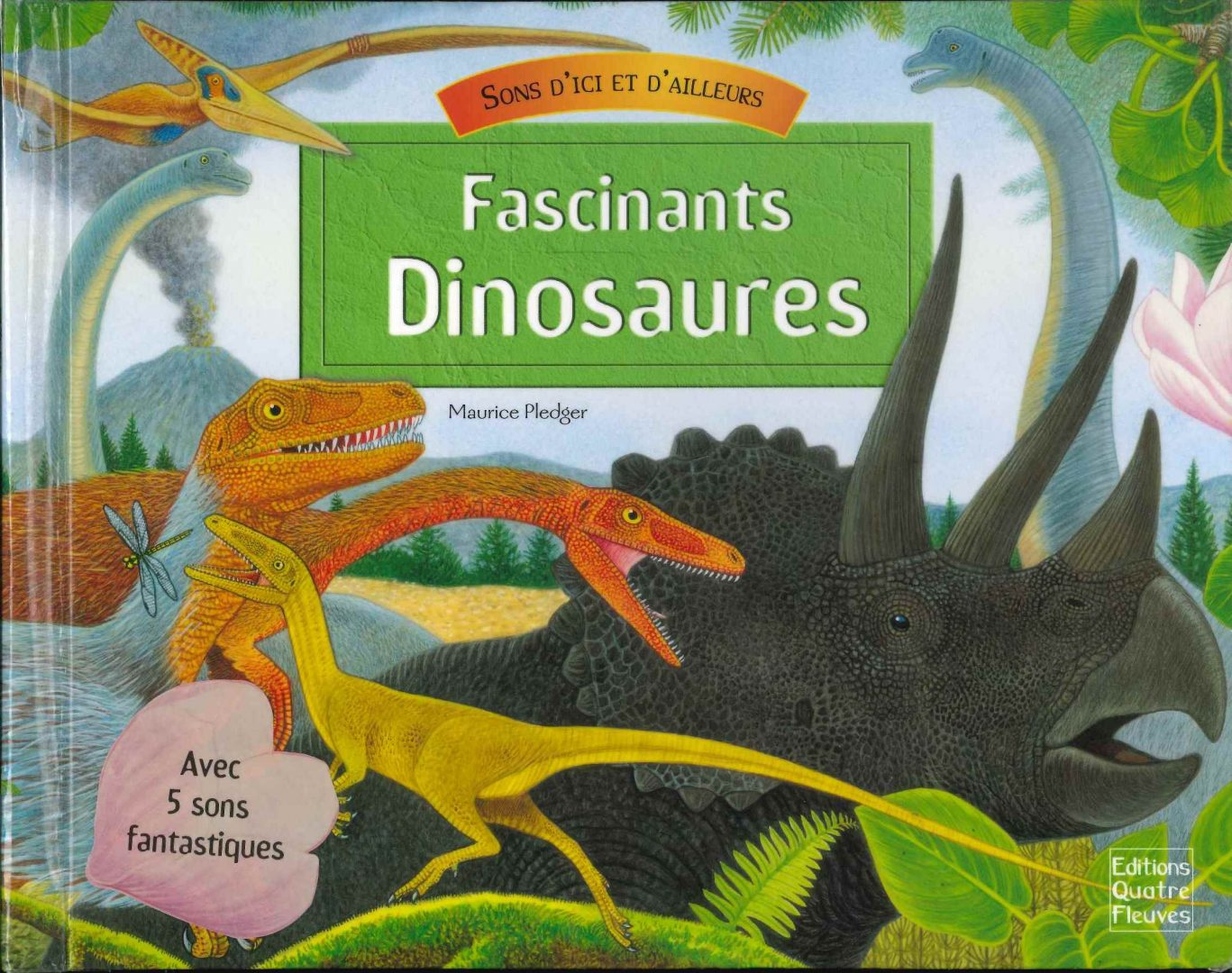 Fascinants dinosaures (Maurice Pledger)