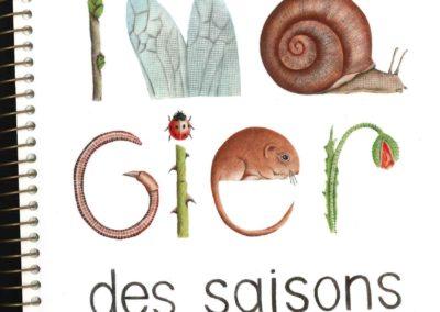 L'imagier des saisons (Francesco Pittau & Bernadette Gervais)