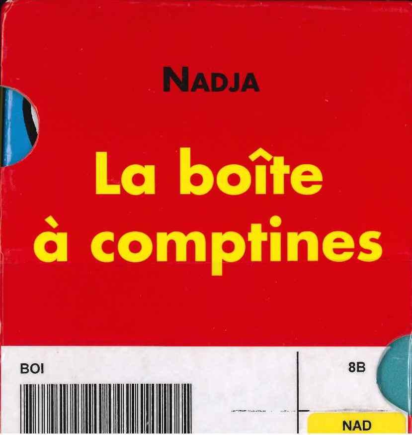 La boîte à comptines (Nadja)