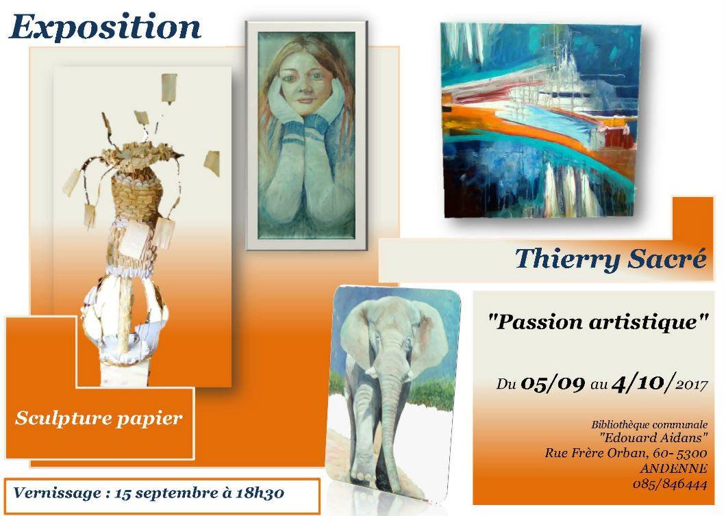 Vernissage exposition «Passion artistique»