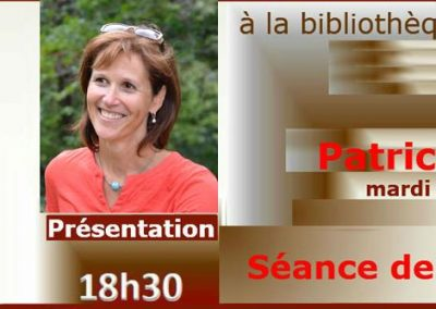 Rencontre d'auteur : Patricia Hespel (7 novembre 2017)