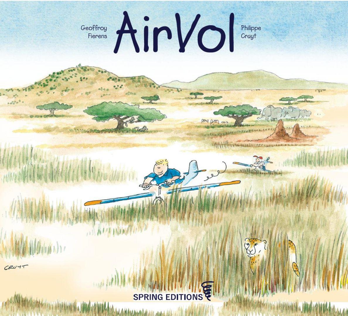 Envolez-vous avec Air Vol et son auteur